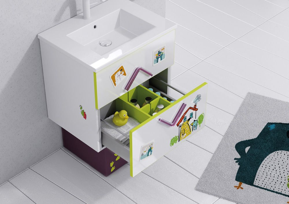 Sonia bath muebles y accesorios de ba o lavabos for Accesorios bano infantil