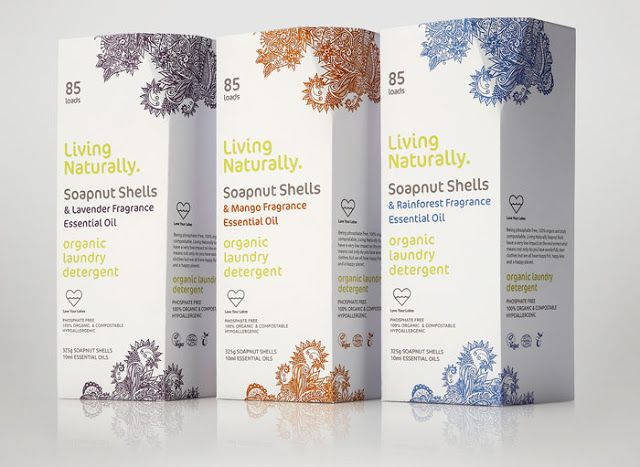 Living Naturally on Packaging of the World - Creative Package Design Gallery