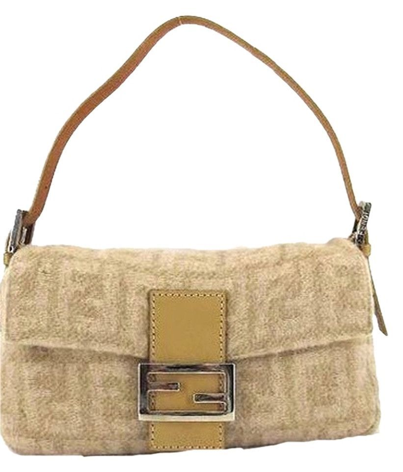 Mamma Baguette Momma Ff Logo Shoulder Bag