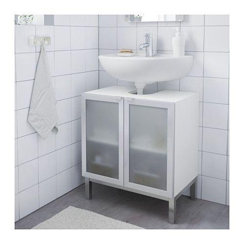 26+ 3 tier bathroom storage cabinet with 2 doors 23 23 80cm white model