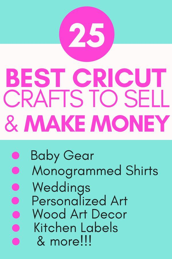Photo of Hobbies That Make Money: Making Money With Cricut