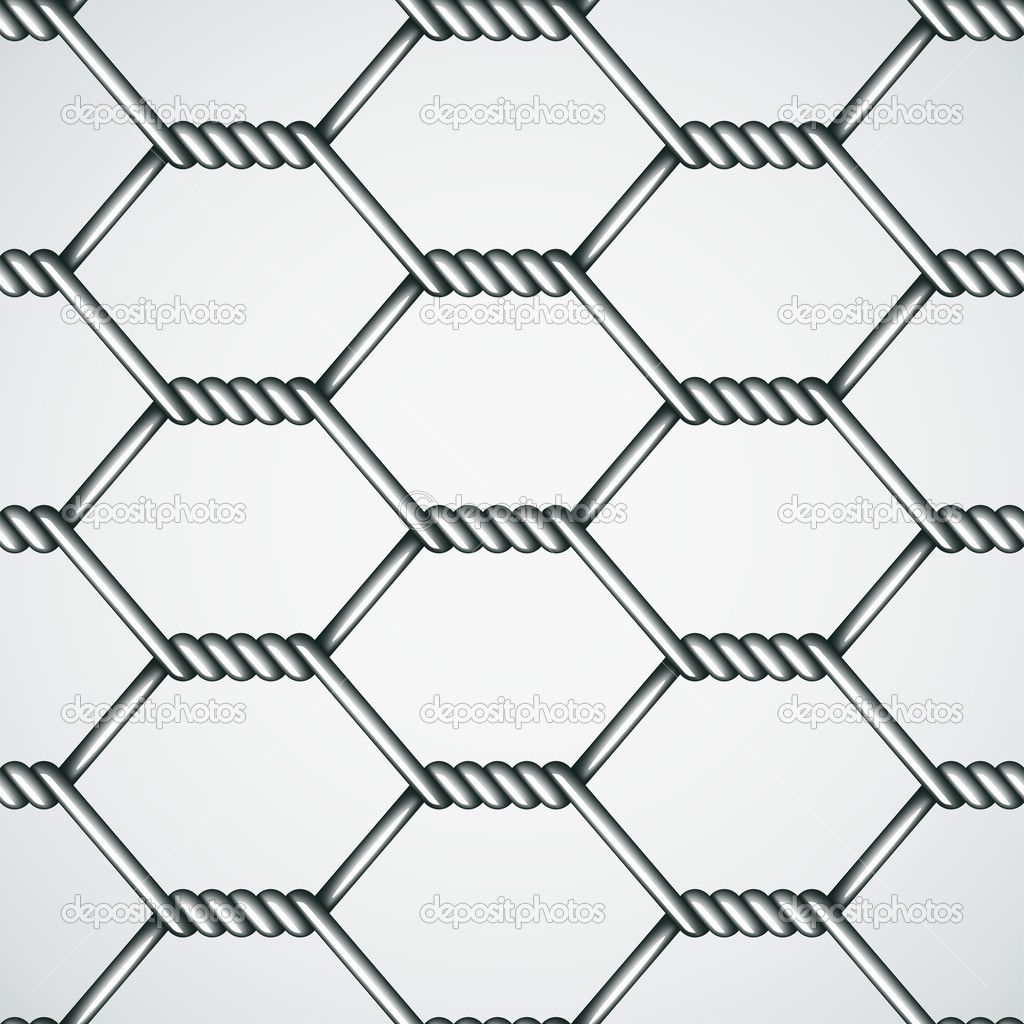 Chicken wire seamless background — Stock Vector © happyroman ...
