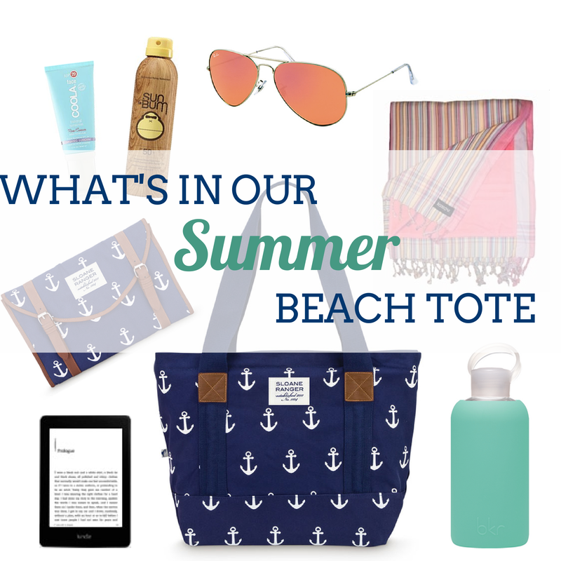 What's in our Tote? Preppy Beach Bag Essentials // Sloane Ranger ...