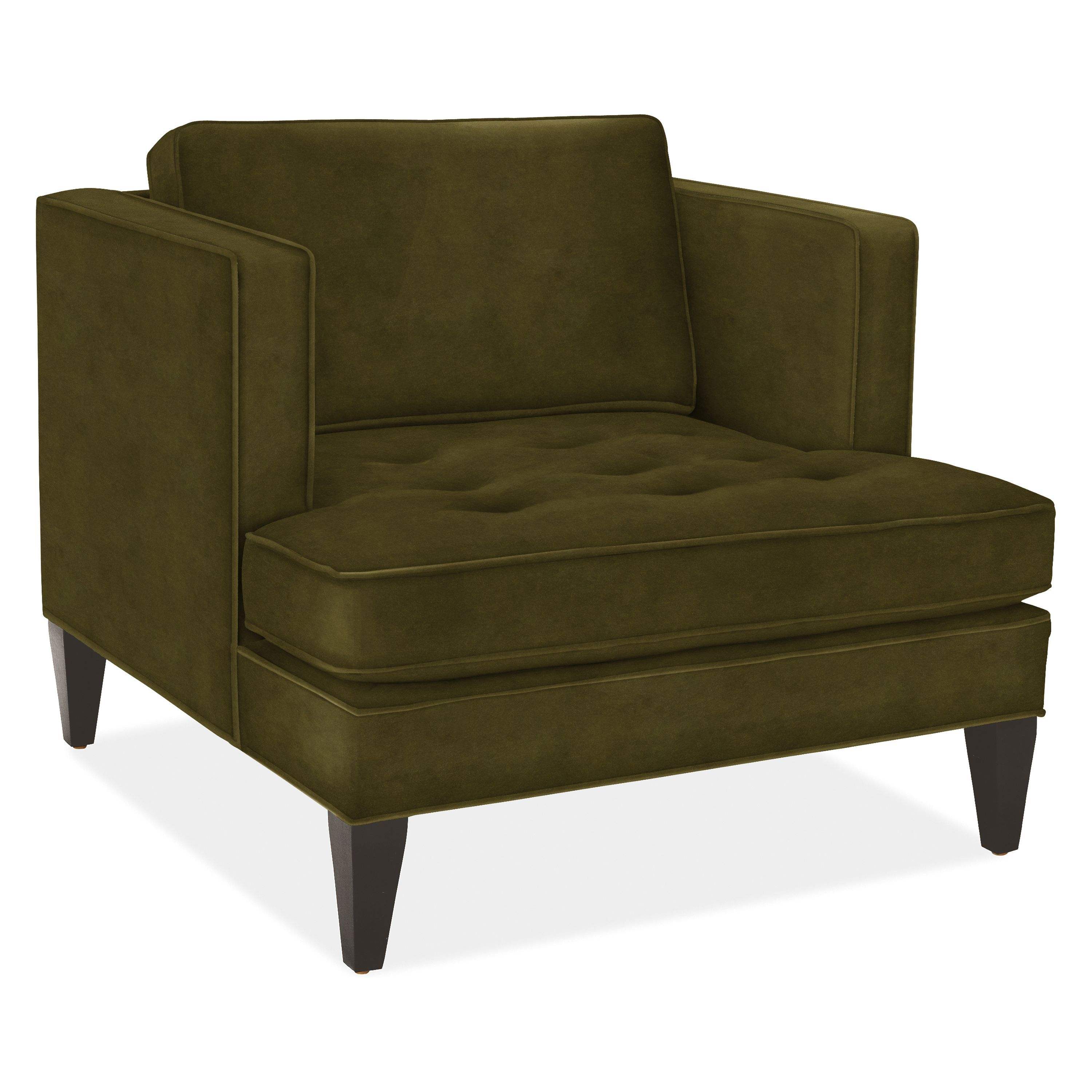 Hutton Chair Modern Accent Lounge Chairs Modern Living Room