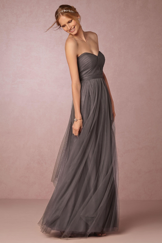 Long wedding reception dresses for the bride  Annabelle Dress in at BHLDN  Wedding Ideasuc  Pinterest  Bride