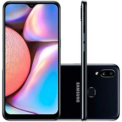 """Celular Samsung Galaxy A10s Vermelho 32gb Android 9.0 Pie Tela 6.2"""" Camera 13mp"""