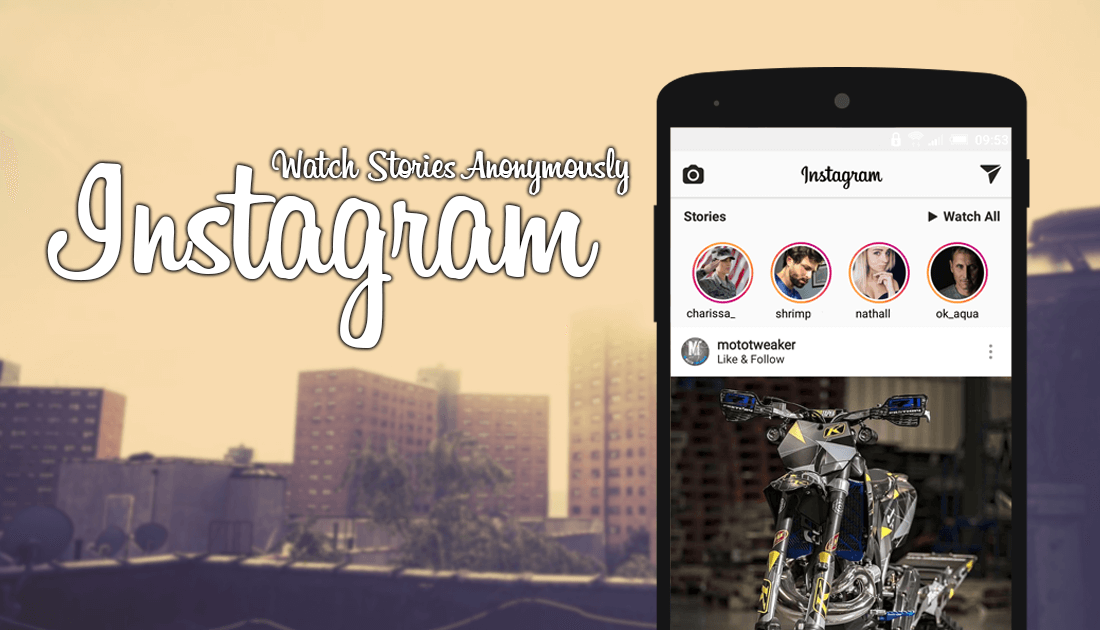 How to View and/or Download Instagram Stories Anonymously  | Android