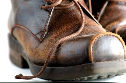 How To Remove An Oil Stain From Leather Shoe Sadly I Just Had Test This Works Reasonably Well