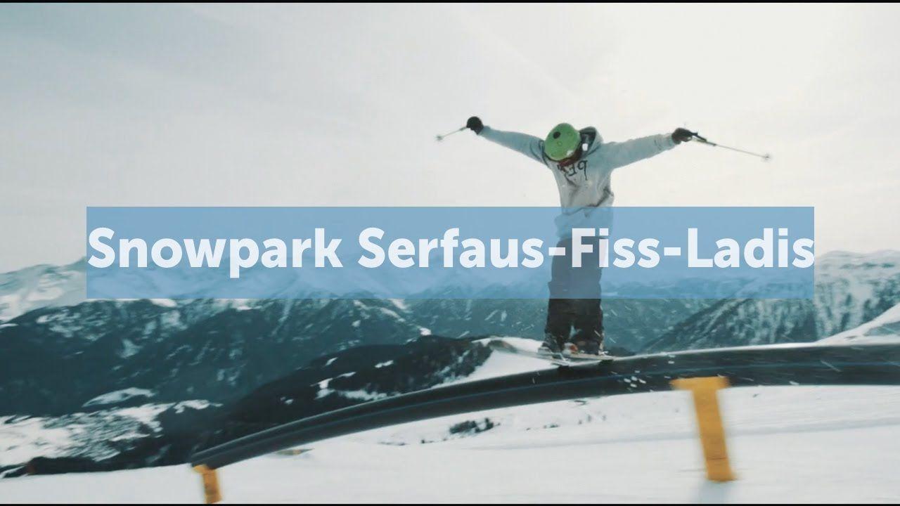 Imageclip // Snowpark Serfaus-Fiss-Ladis #skiing #boardsnwheels #ski #extreme #actionsports