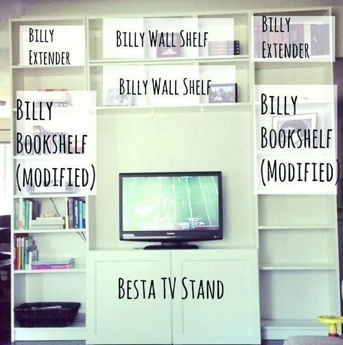 Ikea Billy Bookcase Hack Tv Bookcase Stand Days Like These O