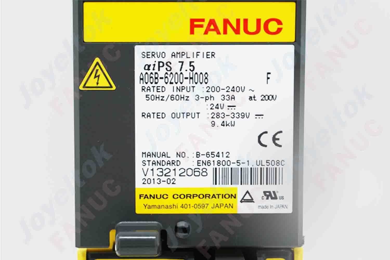 A06B-6200-H008 Fanuc Servo Amplifier