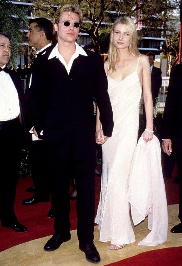 6e1d5712024e Gwyneth Paltrow was classy in a slip dress in 1996.
