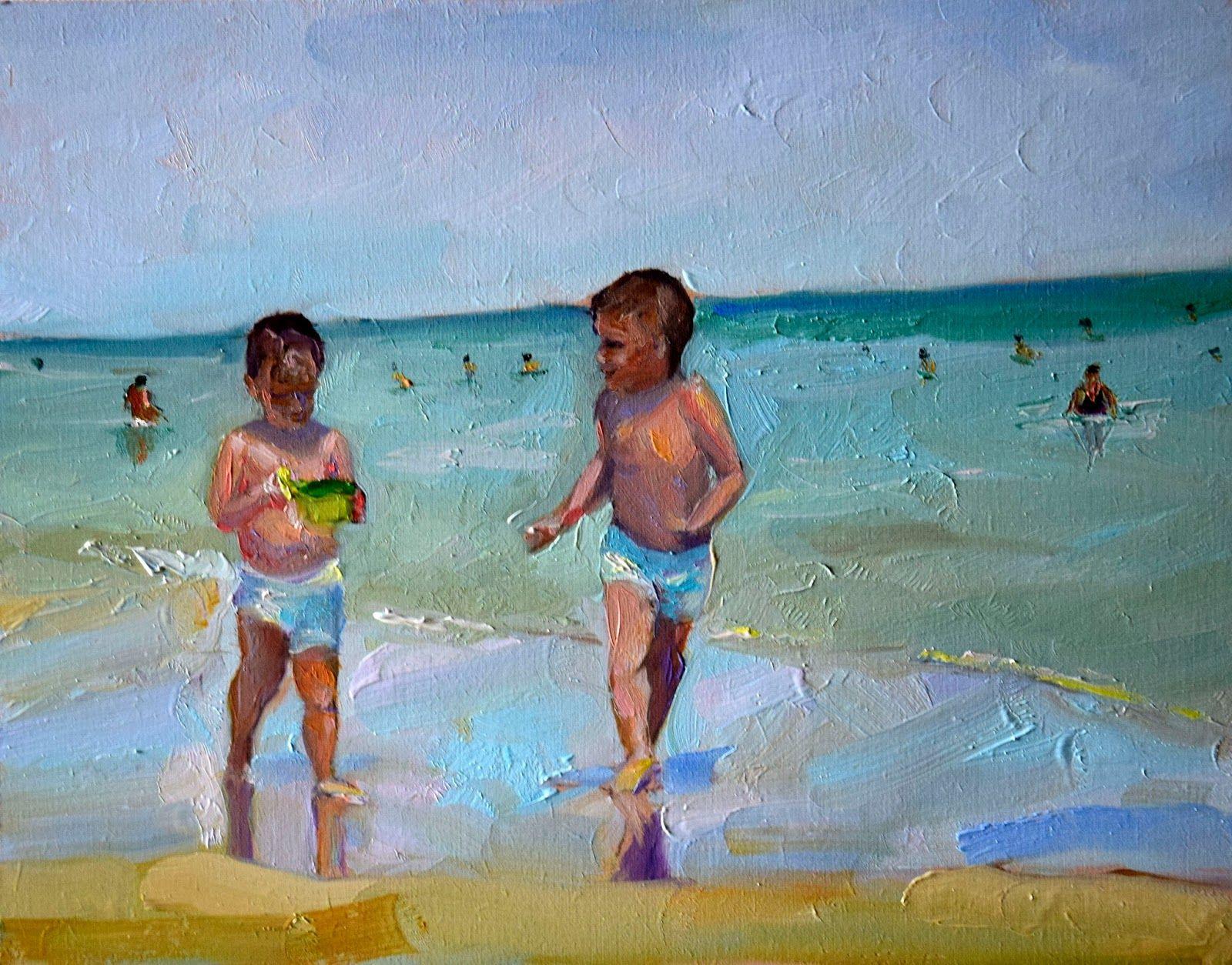 Una pintura al día: Amigos para siempre