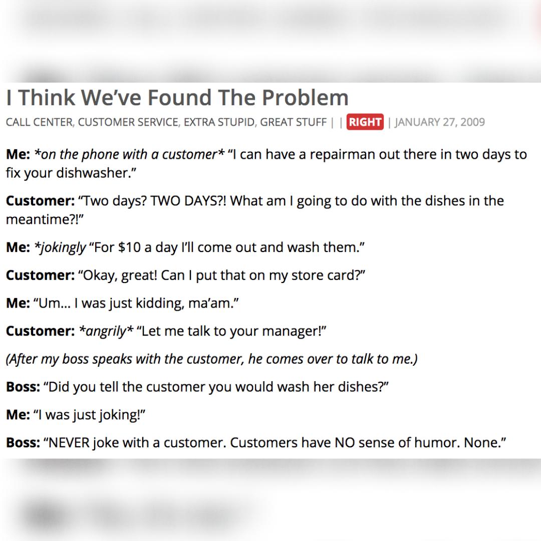 Popular – Funny & True Stories   NotAlwaysRight.com