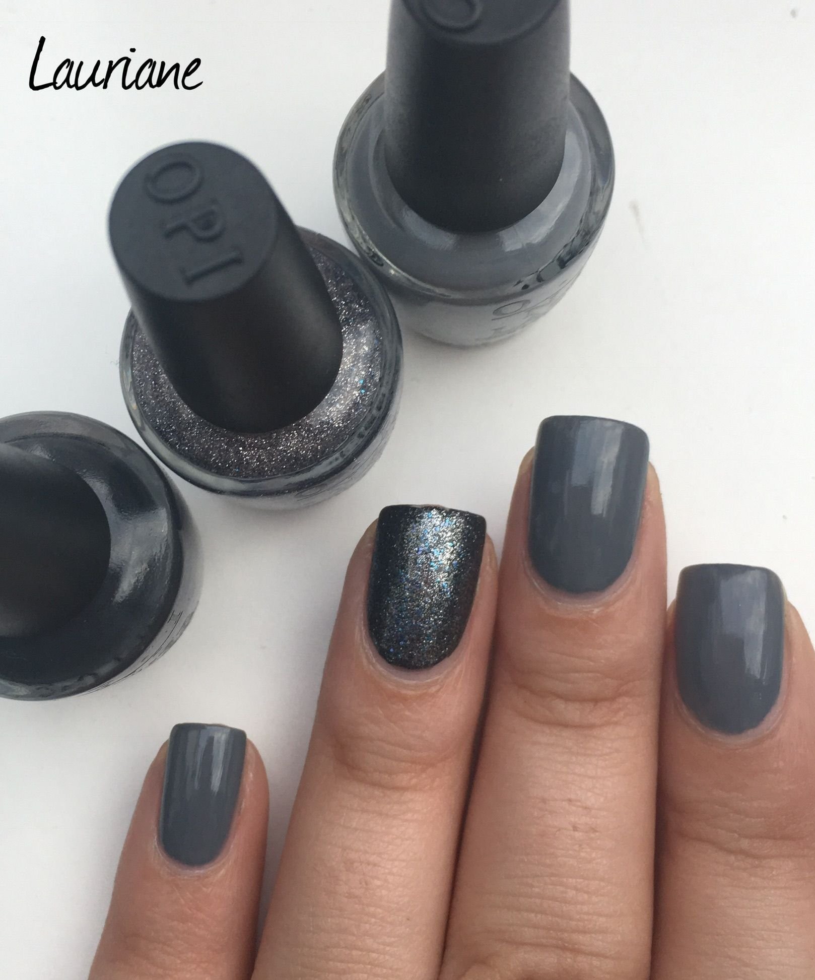 Petit pose des Vernis OPI de la collection Fifty Shade of Grey opi