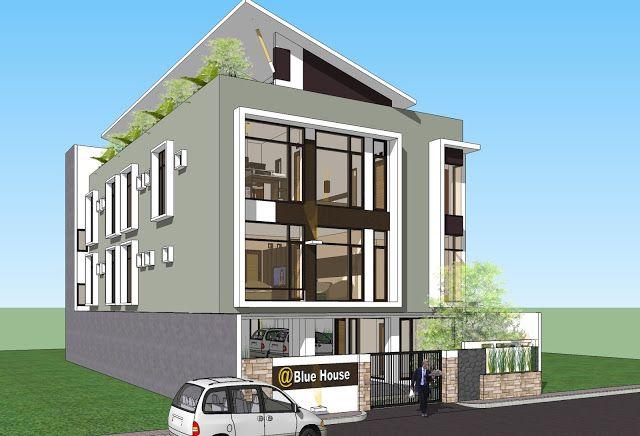 Desain Rumah Minimalis Model Rumah Minimalis Rumah Kos Exclusive Rumah Desain Rumah Rumah Minimalis