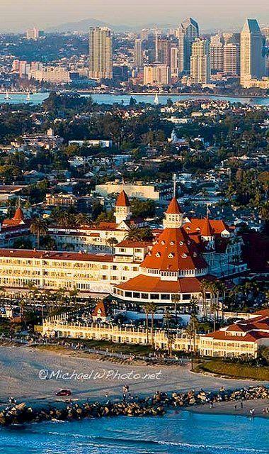 Hotel Del Coronado Aerial-722