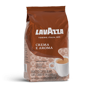 Whole Beans Arabica and Robusta Coffee Beans Lavazza