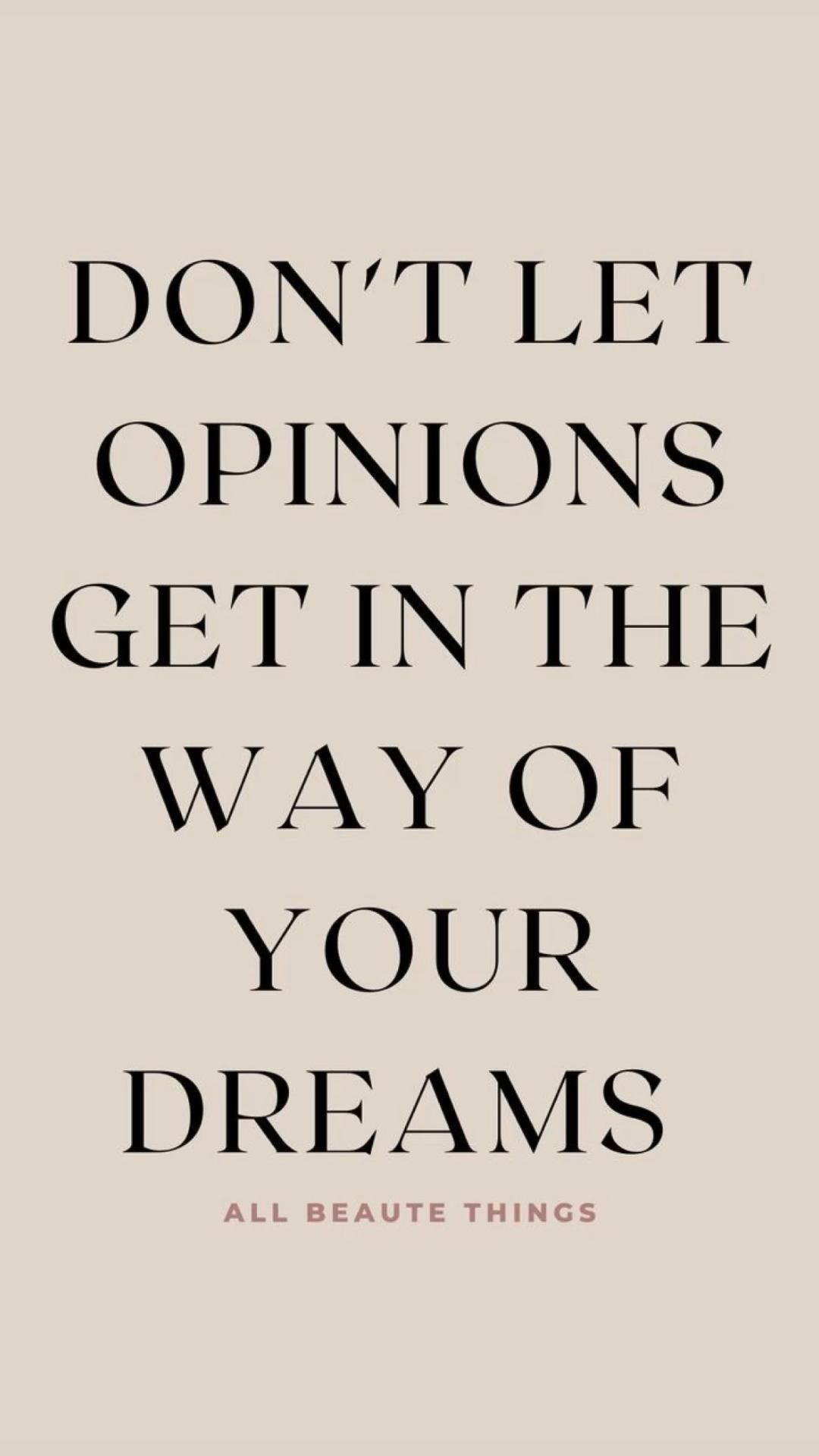 quotes about following your dreams 🦋