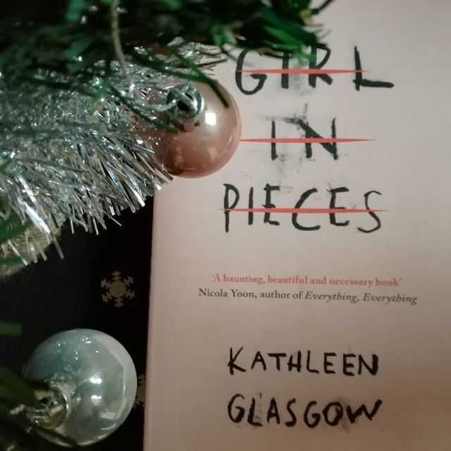 Today I finished this beautiful book called Girl in Pieces by @misskathleenglasgow The story is so sad yet so beautiful! ~ { #girlinpieces #kathleenglasgow #bookstagram