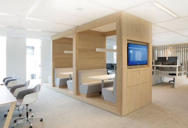 HEYLIGERS Design+Projects have designed the offices for power ...