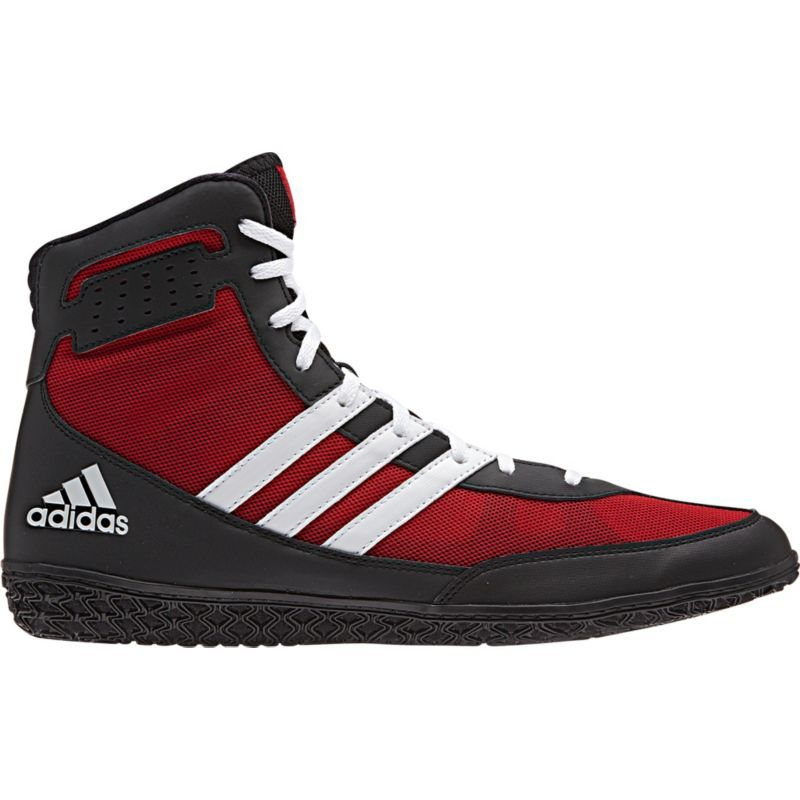 reputable site adidas Mat Wizard Men Wrestling Shoes Red Black White