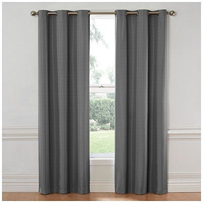 84 Gray Hampton Sundown Thermal Curtain Panel Curtains Thermal Curtains Panel Curtains
