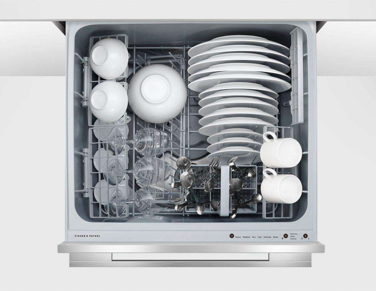 Fisher Paykel Dd60sdftx9 Single Dishdrawer Dishwasher Appliances Online In 2020 Integrated Dishwasher Dishwasher Appliances Online