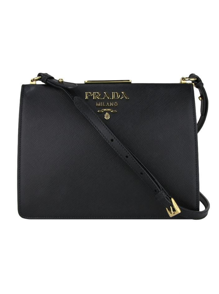 5f55504a1f5ddd Prada logo plaque crossbody bag | PRADA in 2019 | Bags, Crossbody ...