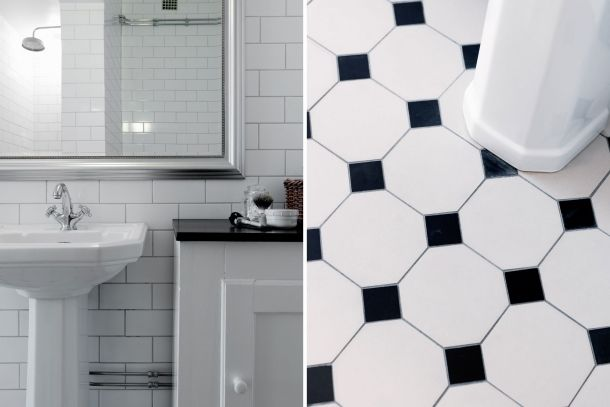 17 Best images about Badrum on Pinterest   Shower tiles, Hexagons ...
