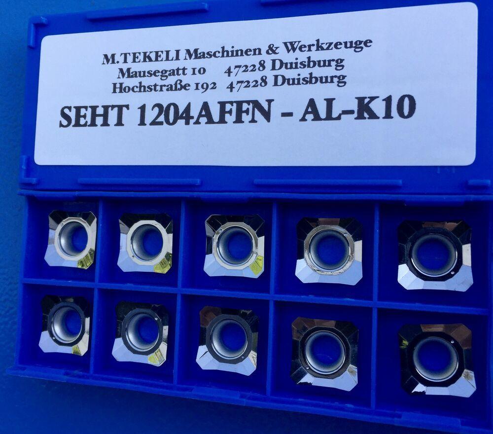 10X SECO DCMT 11T304-MF2,TP2501 WENDESCHNEIDPLATTEN CARBIDE INSERTS
