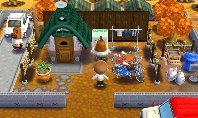 リセットさんとラケットさんの家 Animal Room Animal Crossing