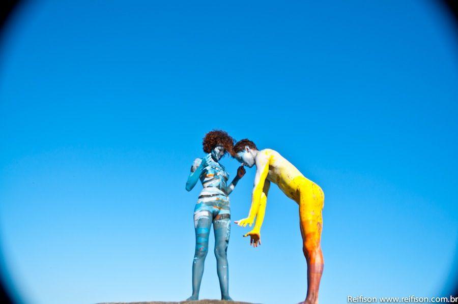 Arte viva – Corpos Pintados