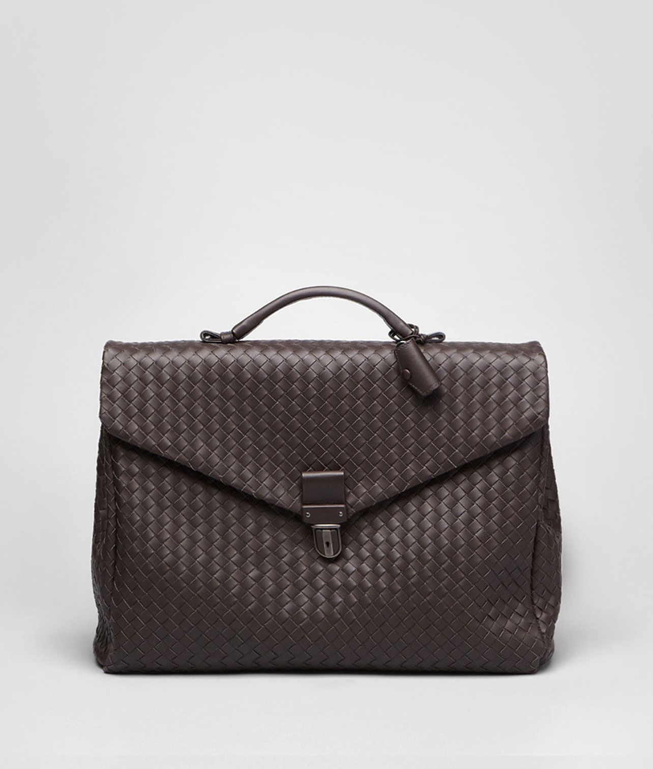 f1ce98d704 Ebano Intrecciato VN Briefcase - Men s Bottega Veneta® Business Bag - Shop  at the Official Online Store United Kingdom