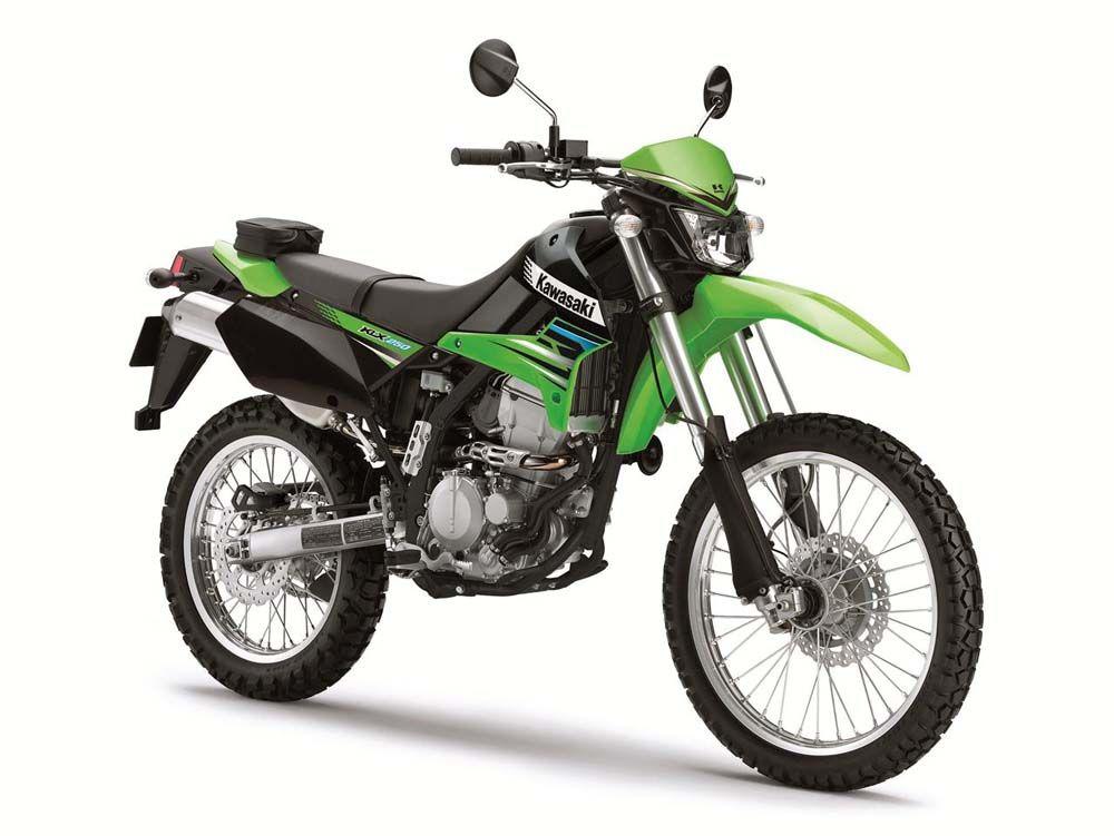 kawasaki klx 250 Kawasaki motorcycles, Kawasaki bikes