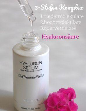 3 Arten der Hyaluronsäure Nur wenige wissen, dass es zwei unterschiedliche Formen der Hyaluronsäure gibt. Wenn sie beide gleichzeitig wirken, ist der Anti-Aging-Effekt optimal.