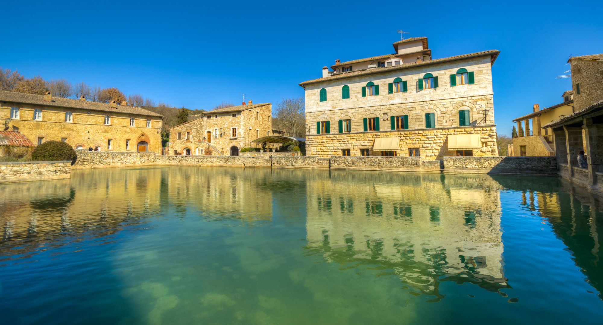 Bagno Vignoni With Images Tuscan Towns