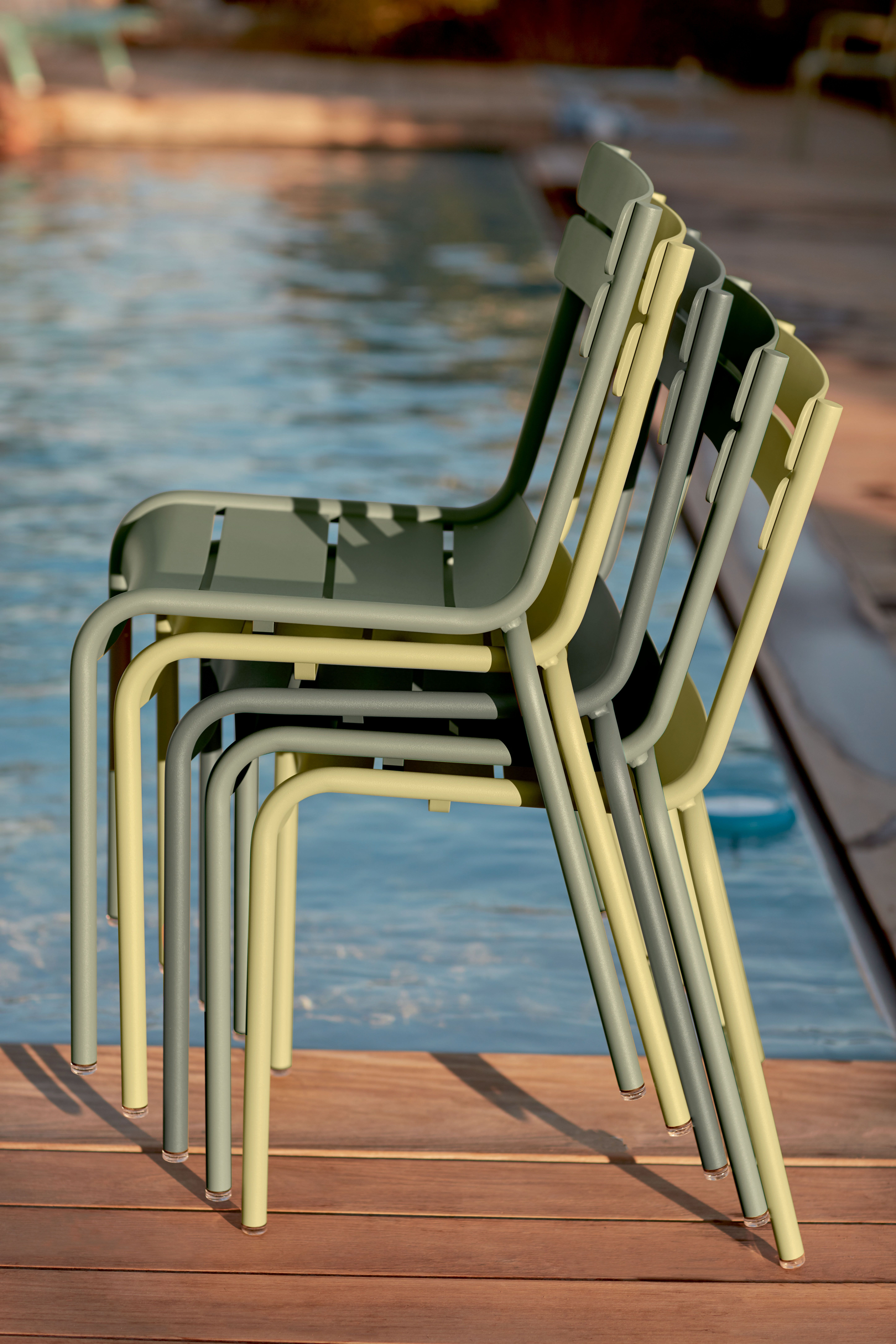 Chaise Luxembourg, chaise de jardin métal | Patio/Pool Deck | Chaise ...