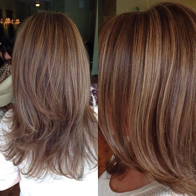 Honey Blonde Highlights And Light Brown Lowlights Hair Make Up
