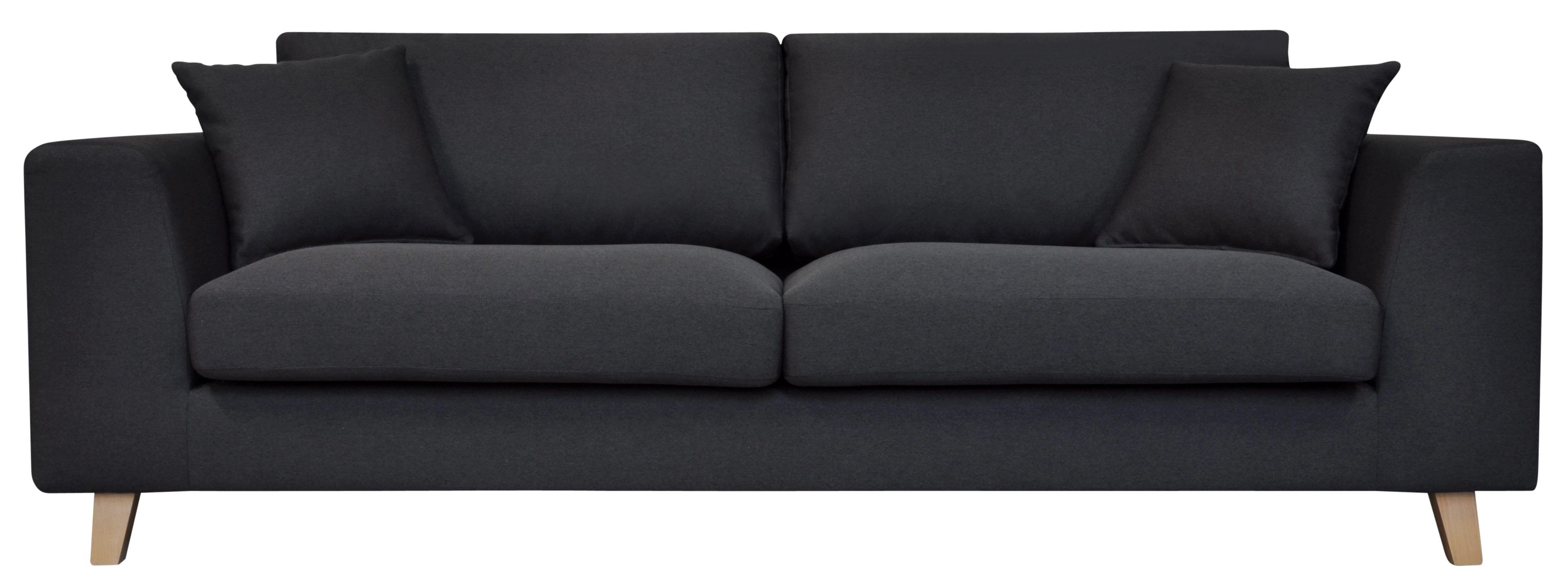 Catalogue But Canapés Canapé 3 Places Bilbo Tissu Gris Anthracite Sofa Sofa Couch