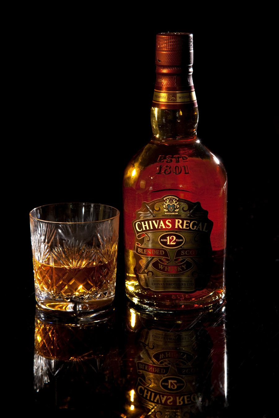 Chivas Regal Whiskeria Tequila Patron Licor