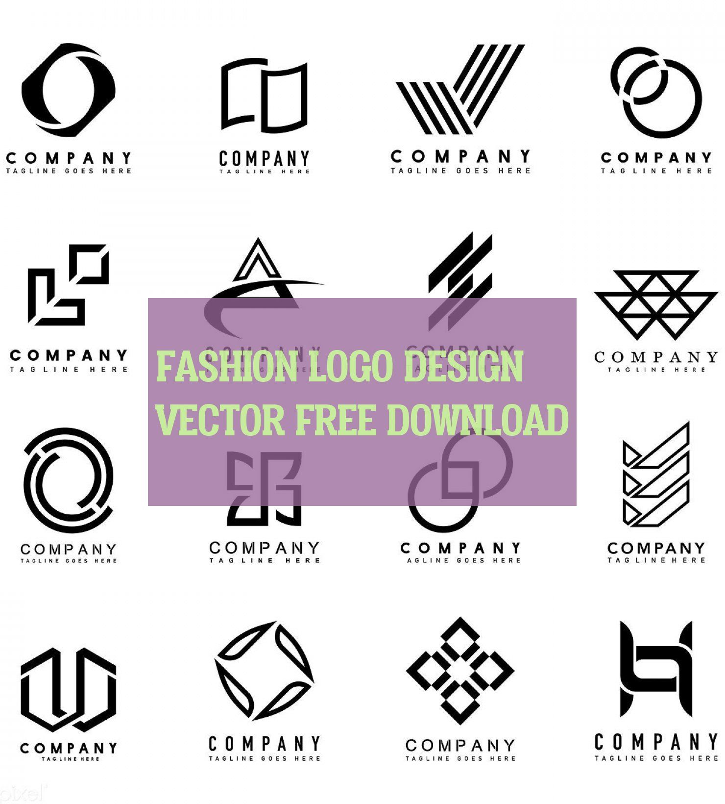 Fashion Logo Design Vector Free Download Mode Logo Design Vektor Kostenloser Download Mode Logo Design Ve Fashion Logo Design Logo Design Company Logo Design