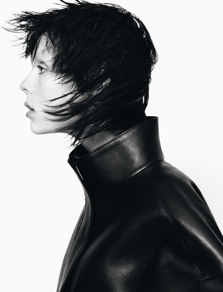 Edie Campbell for Jil Sander FW 13.14 Campaign by David Sims