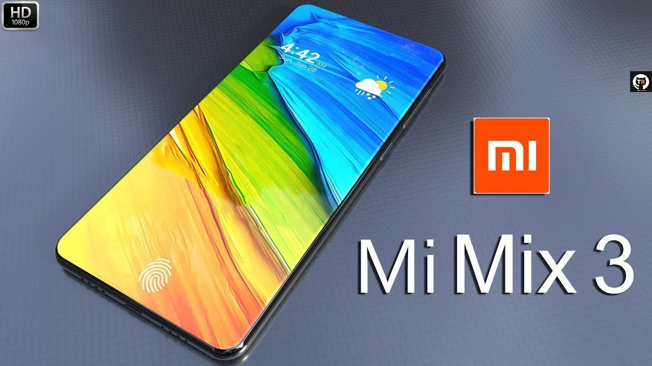 Xiaomi Mi Mix 3 First Look Price Camera Specifications Features Co Youtube New Gadgets Technology Trends