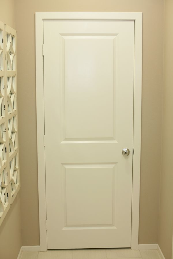 Interior Doors With Chrome Knob Hardware We Feature