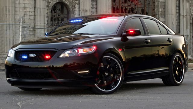 Ford S Hot Rod Police Interceptor Is The Quickest Cop Car On The