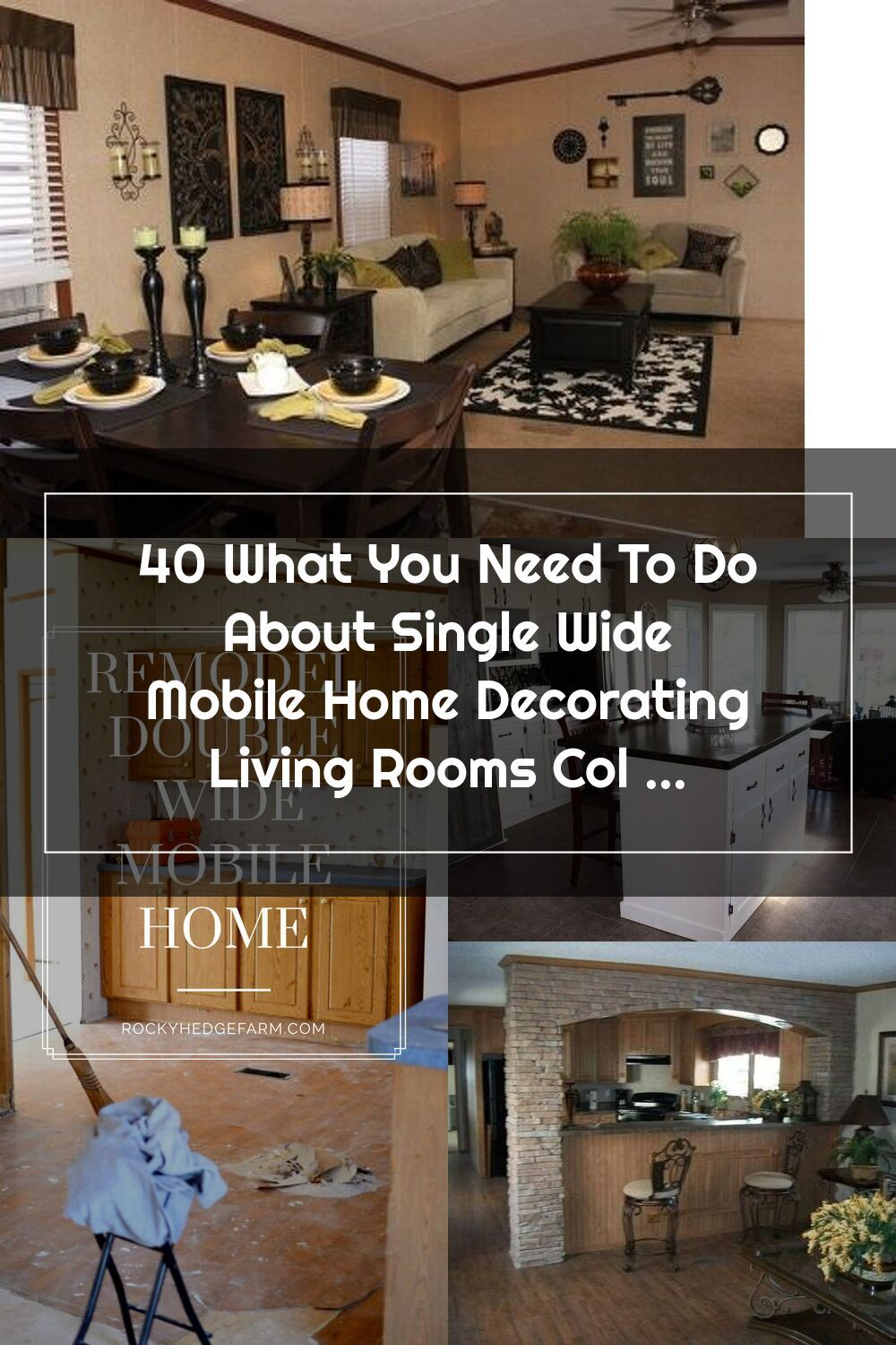 What You Need About Single Wide Mobile Home Decorating Living Rooms Col