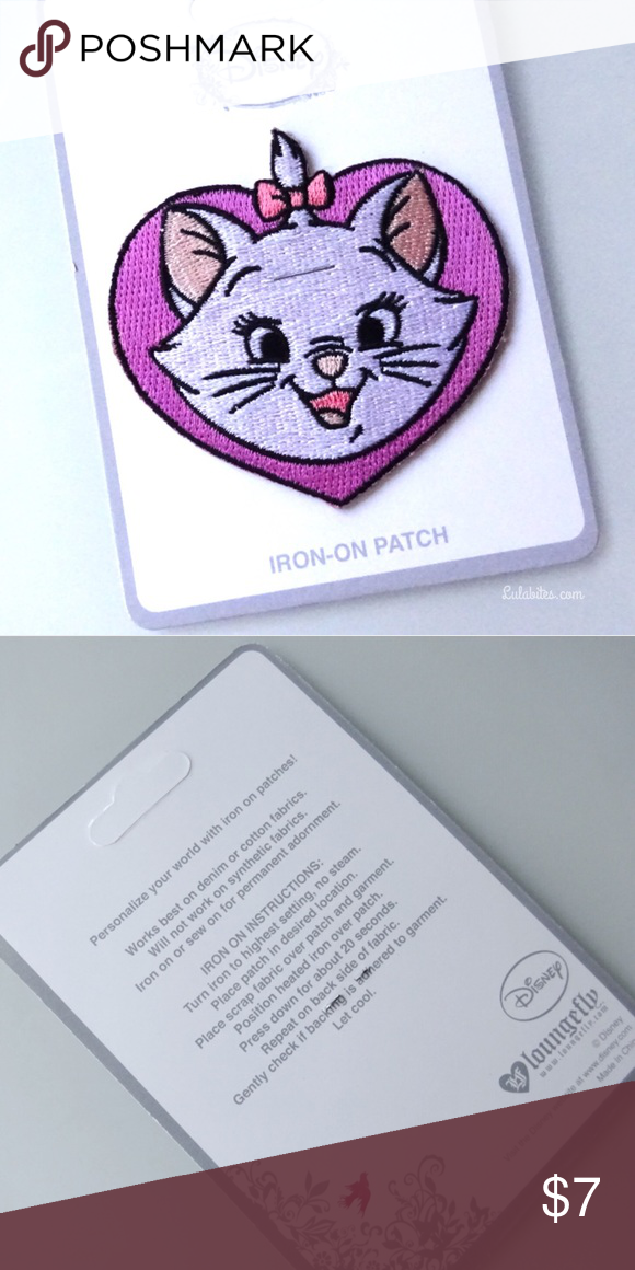 Last One Iron On Patch Disneys Marie Patch Boutique My Posh