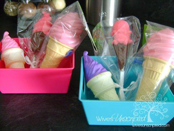 ice cream baskets