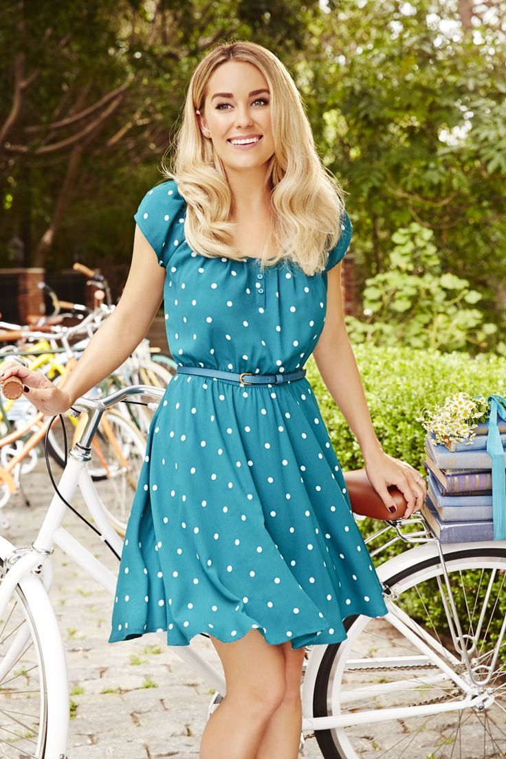 Lauren Conrad in an LC Lauren Conrad for Kohl\'s Dress | Lauren ...